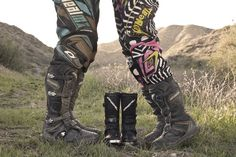 Pregnancy announcement photo for a family that loves to ride dirtbikes! on http://popularpin.com