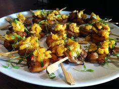Blackened Shrimp with Mango Salsa