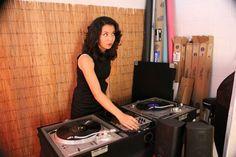 Specializing in vinyl, DJ Modrey Hepburn brings the oldies to KJHK and the Replay Lounge