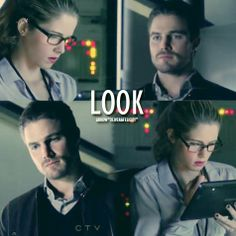 Arrow - Oliver & Felicity. The look Oliver gives Felicity in this scene makes me feel all warm and gooey every time I see it <3