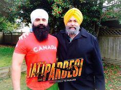 #KSMakhanBhaji and #JaspreetSinghAttorney at law USA in up coming Punjabi Movie #JattPardesi. Releasing Dec 2014