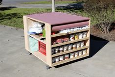 DIY Portable Workbench with Storage - Free Plans