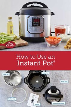 How to Use an Instant Pot® – Bell-bottoms Instant Pot Pressure Cooker, Pressure Cooker Recipes, Pressure Cooking, Instant Cooker, Pressure Pot, Instant Crock Pot, Instant Pot Dinner Recipes, Cooking Tips, Cooking Recipes