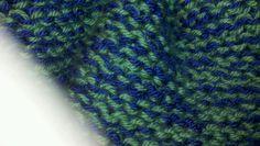 Blue n fern afghan