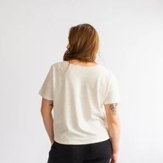Eco-friendly t-shirt made in Toronto, Canada for minimalist styling. Perfect Wardrobe, Toronto Canada, Keep Your Cool, Capsule Wardrobe, Organic Cotton, Eco Friendly, How To Make, How To Wear, Minimalist
