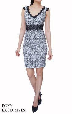 Valentine Lace Dress in White, S$ 32.00
