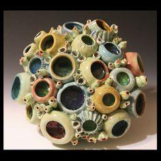 Coral Reef inspired artwork by artist Diane Martin Lublinski   ClayForms by Diane Martin Lublinski
