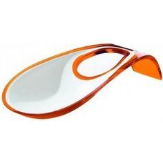Repose cuillères Latina orange Guzzini 13.90 € livré gratuitement dans le relais colis de votre choix !