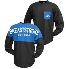 Breast Stroke Swim Jerseys-Cobalt/Black | SwimWithIssues