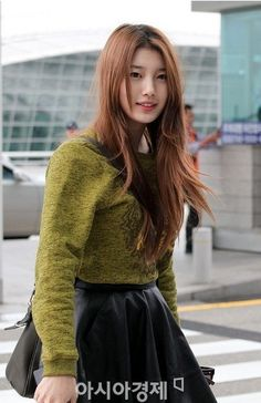 Suzy Airport Fashion 'Departing to Istanbul'