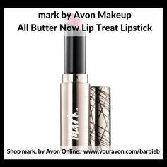 mark by Avon All Butter Now Lip Treat Lipstick  - new makeup relaunch Campaign 10 - shop mark by Avon Makeup http://barbieb.avonrepresentative.com