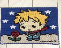 Tapete Croche Pequeno Príncipe