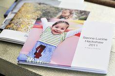 How to make a yearly photo book via lilblueboo.com