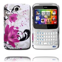 Valentine (Two Purple Roses) HTC ChaCha Cover