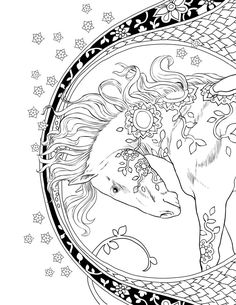 This Adult Coloring Page Is From Magical Kingdom Book If Filled With
