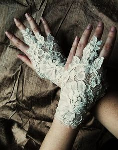 Love Bellydance ivory bridal quality  lace by maryandangelika, $25.90