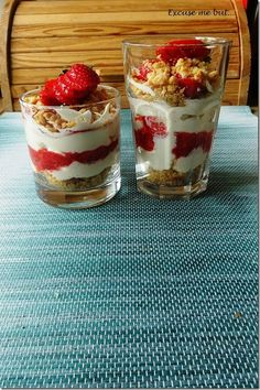 Cheesecake in a Jar/Glass (Vegan Option)