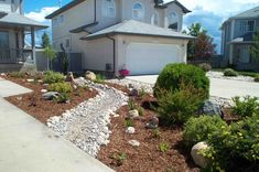 landscaping ideas for front yard xeriscape