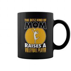 Best mom raises a Volleyball Player 0316 mug