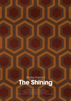 The Shining - Stephen King. A film by Stanley Kubrick.
