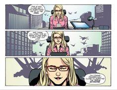 Felicity Smoak's innuendo