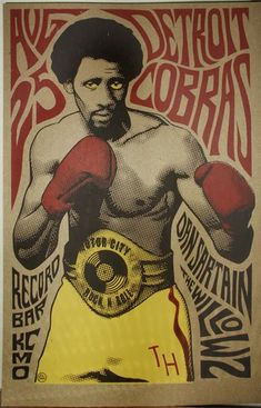 Motor City Hit Man! Thomas Hearns!...on of my fav boxers growing up!