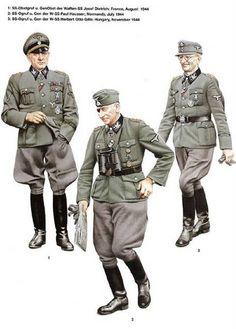 Generales alemanes de la SS 1944