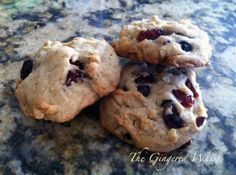 Sourdough Cookies by The Gingered Whisk