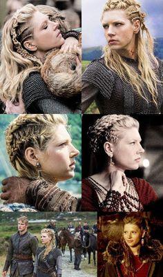 New ethnic hair Braids, braids and Dreadlocks in a brilliant trendy look My Hairstyle, Pretty Hairstyles, Braided Hairstyles, Wedding Hairstyles, Viking Hairstyles, Popular Hairstyles, Lagertha Hair, Vikings Lagertha, Vikings Tv