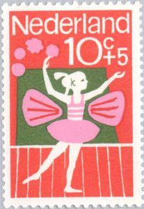 ◙ The Netherlands, Postage Stamp, 1964. ◙