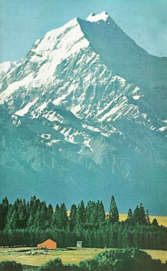 Mt. Cook, New Zealand National Geographic | April 1962