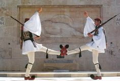 Changing of the guard. Greek Independence, Unknown Soldier, In Ancient Times, Armed Forces, Athens, Trip Planning, Mythology, Greece, Army