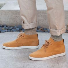 Strayhorn Unlined Mid-Tops by Clae