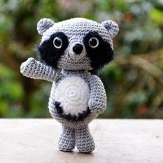 Febo the Raccoon amigurumi pattern by airali handmade