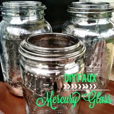 mirror on pinterest krylon looking glass mercury glass and sprays. Black Bedroom Furniture Sets. Home Design Ideas