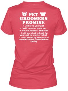 Pet Groomers Promise - Limited Edition