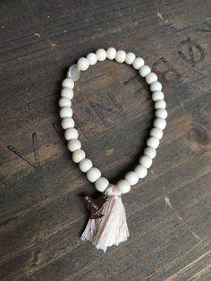 Stretchy Wood Bracelet
