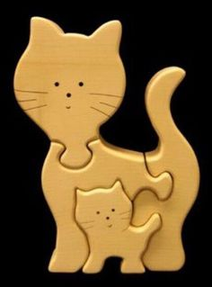 Wooden Crafts, Diy And Crafts, 3d Templates, Scroll Saw Patterns Free, Wood Games, Shape Puzzles, Wood Animal, Small Wood Projects, Wooden Puzzles