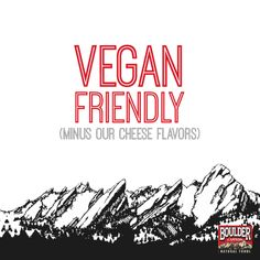 Boulder Canyon Chips are vegan friendly!