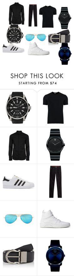 """trendy*"" by avdurahman-ibrahimovic ❤ liked on Polyvore featuring Gucci, Dolce&Gabbana, Versus, Movado, adidas Originals, Michael Kors, Ray-Ban, Moschino, Salvatore Ferragamo and men's fashion"