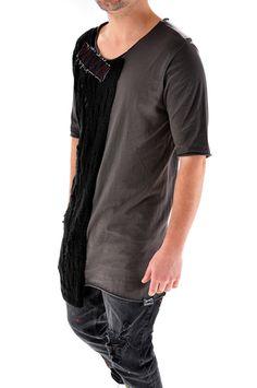 Tricou handmade pentru barbati, cod T3205, marca Different Cut