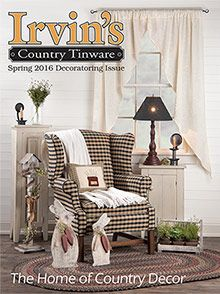 picture of country home decor from terry's village catalog