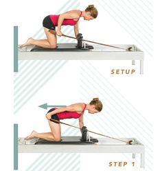 Challenge your body while protecting your back with this Reformer series inspired by Maria Leone's work with risk-taking pro athletes. We dare you!