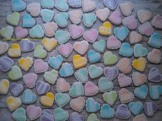 Wedding lace heart x 90   Cookie Connection
