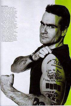 Henry Rollins!