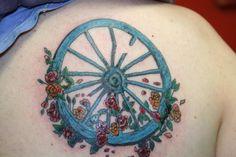 My Grateful Dead Wheel Tattoo #gratefuldead #gratefuldeadtattoos