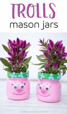 Troll flower pots