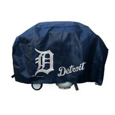 Keep your grill protected when not in use and let everyone know who your favorite baseball team is with this heavy-duty MLB Deluxe BBQ Grill Cover. This grill cover is made out of durable vinyl and features your favorite baseball team's logo on one side. Sports Merchandise, Detroit Tigers Baseball, Best Home Gym Equipment, Athleisure Wear, Vinyl Cover, Sports Pictures, Athletic Wear, Sport Wear, Grilling