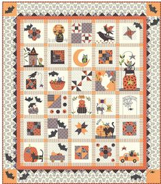 Spooky Halloween block of the month