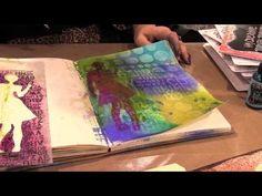 Scrap Time - CHA Winter 2013 -- Dyan Reaveley Dylusions Demo